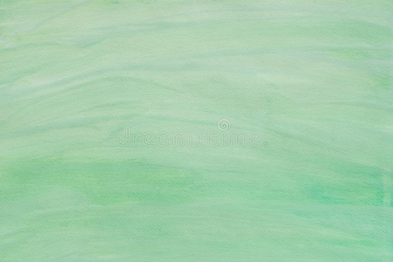 Green abstract watercolor painted background texture stock photos