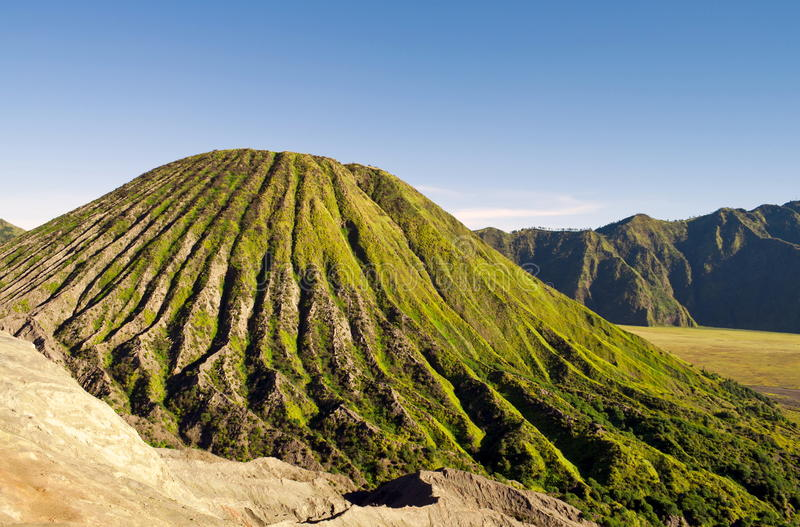 Download Green active volcano stock photo. Image of national, destination - 16861530