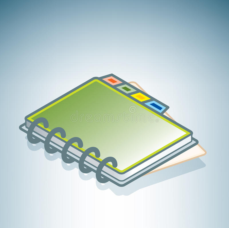 Download Green Address Book Stock Images - Image: 15023964