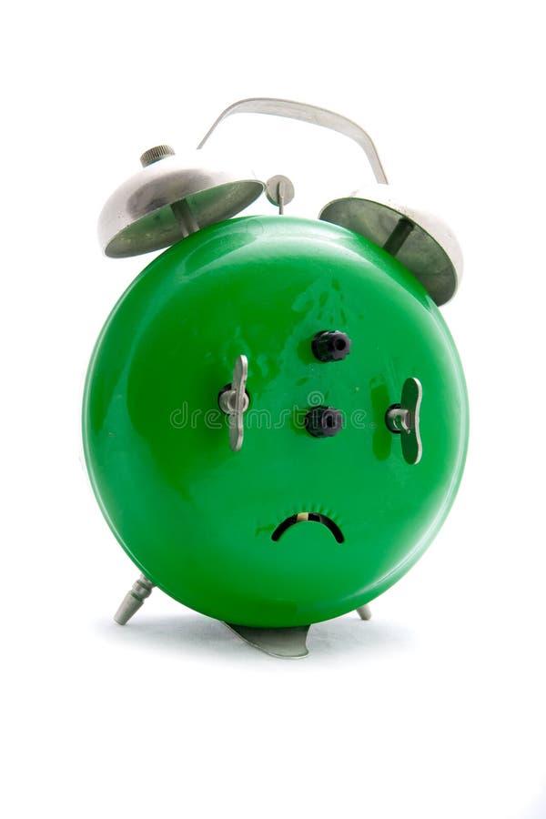 Free Green Alarm Clock Stock Image - 4409321