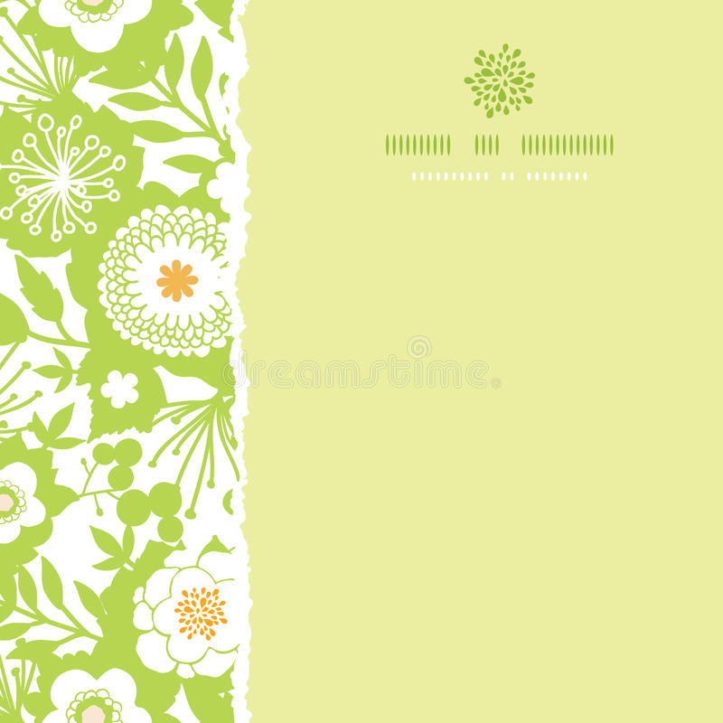Free Green And Golden Garden Silhouettes Square Torn Royalty Free Stock Images - 36105369