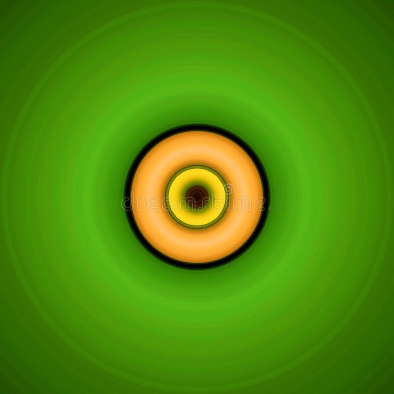 Free Green And Orange Swirl Royalty Free Stock Photography - 49381527