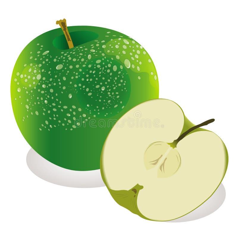 Green apple royalty free stock photos