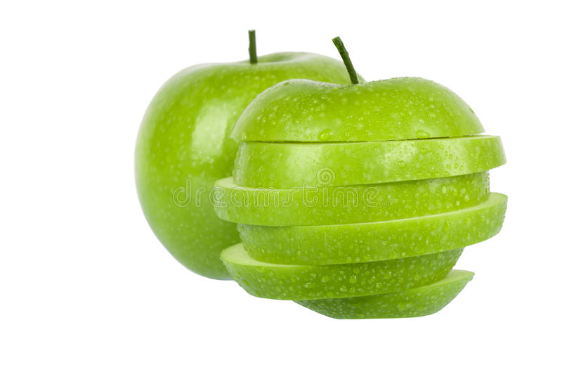 Download Green apple stock photo. Image of organic, ripe, nutritious - 18707874