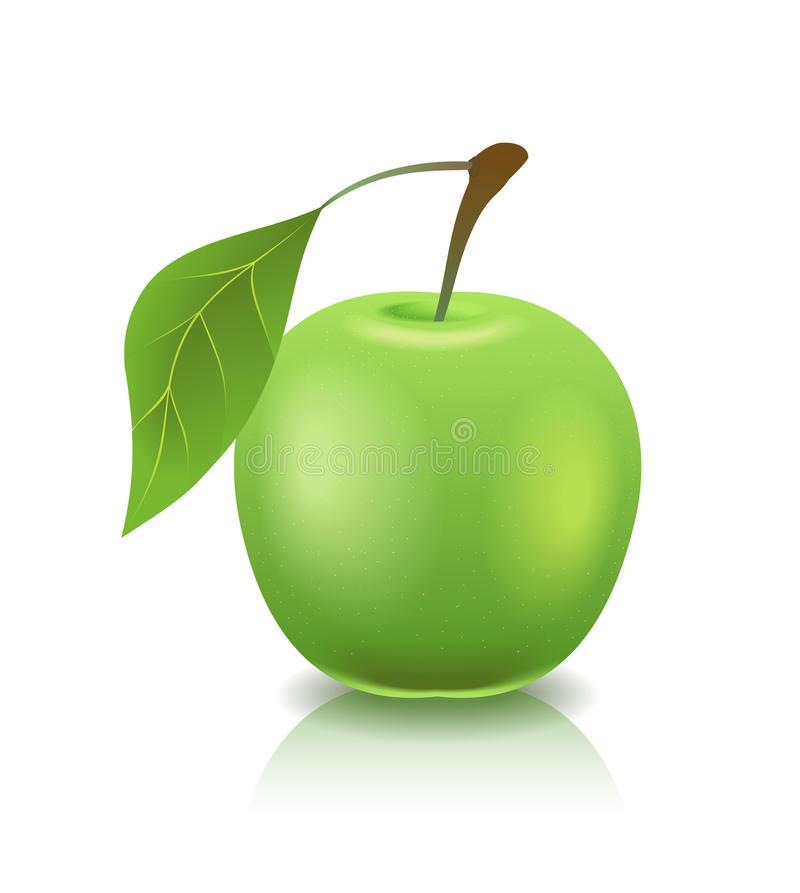 Free Green Apple. Royalty Free Stock Photography - 20398987