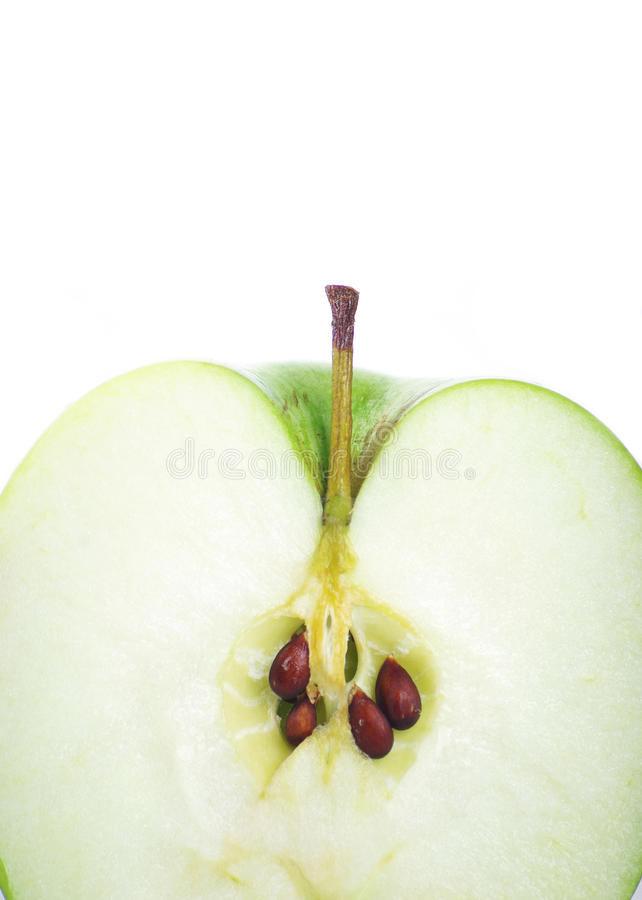 Download Green apple stock image. Image of smith, food, detail - 24156349