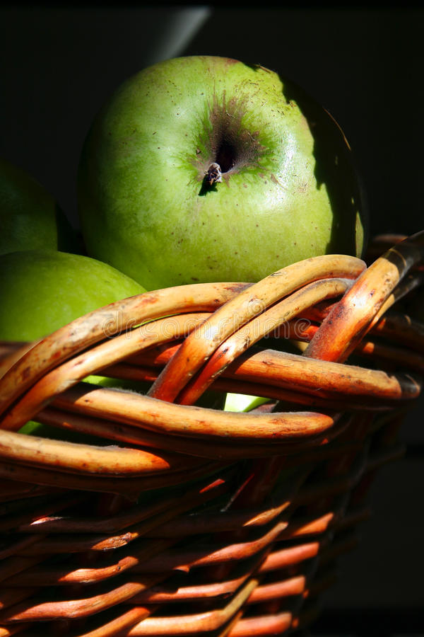 Download Green Apple stock image. Image of basket, apple, green - 26640843