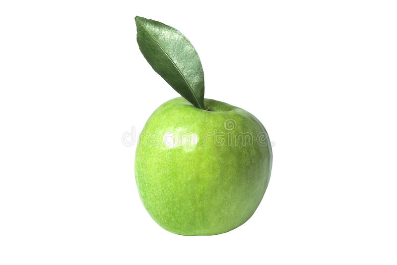 Download Green apple stock photo. Image of round, single, up, diet - 28900214