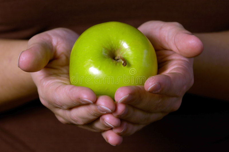 Download Green Apple stock image. Image of apple, gift, produce - 315887