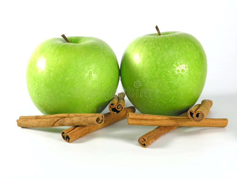 Green apple stock images