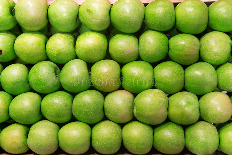 Green Apple Background royalty free stock image