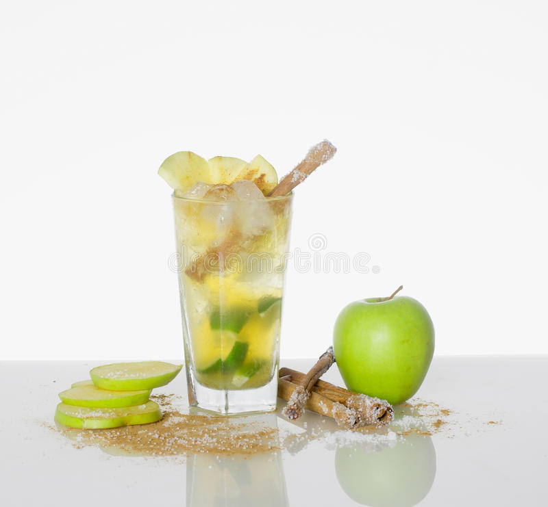 Green apple cocktail stock photos image 29758803 for Green apple mixed drinks