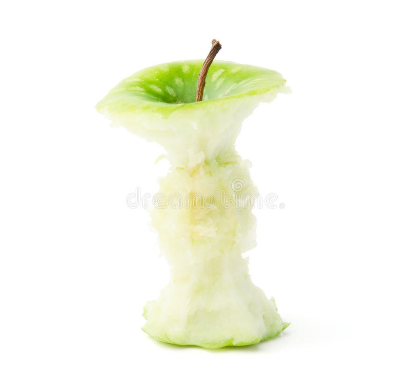 Download Green Apple Core stock image. Image of ripe, path, close - 25031041