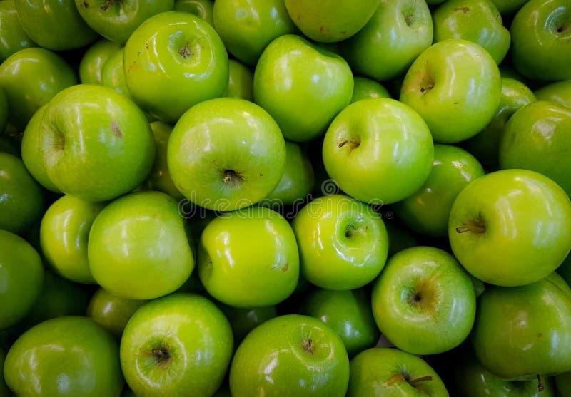 Green Apple Lot stock photos