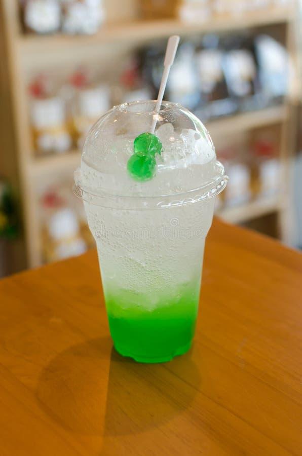 green apple soda stock images