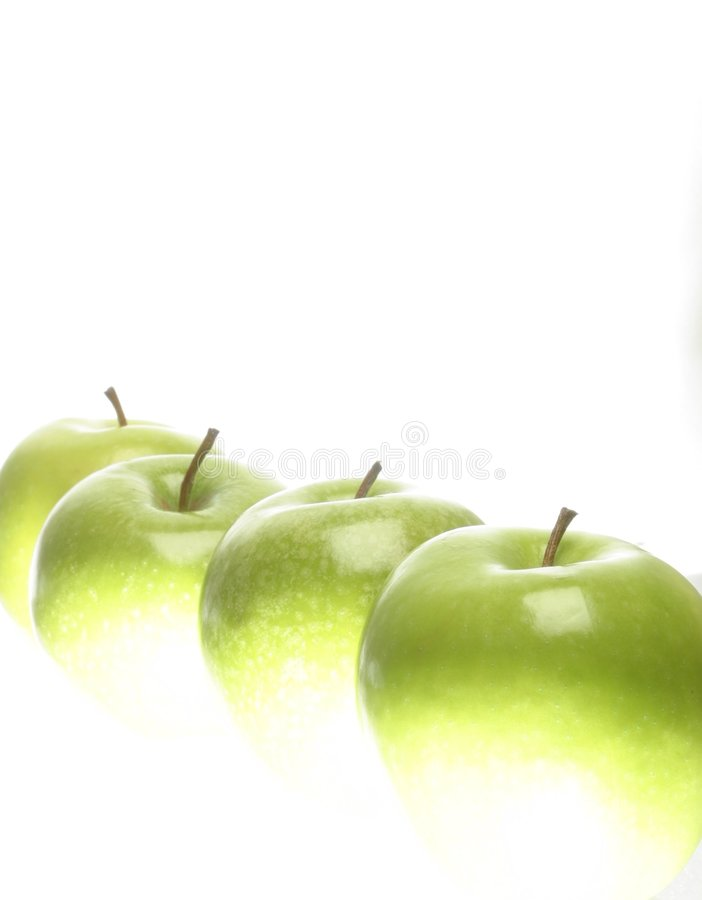 Download Green apples. stock image. Image of health, apples, green - 198915