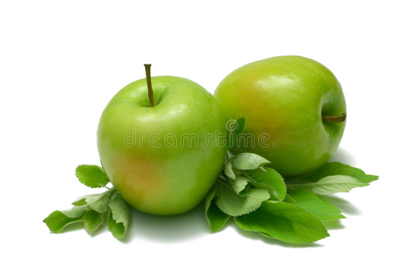 Download Green Apples stock image. Image of isolated, white, smith - 2544291