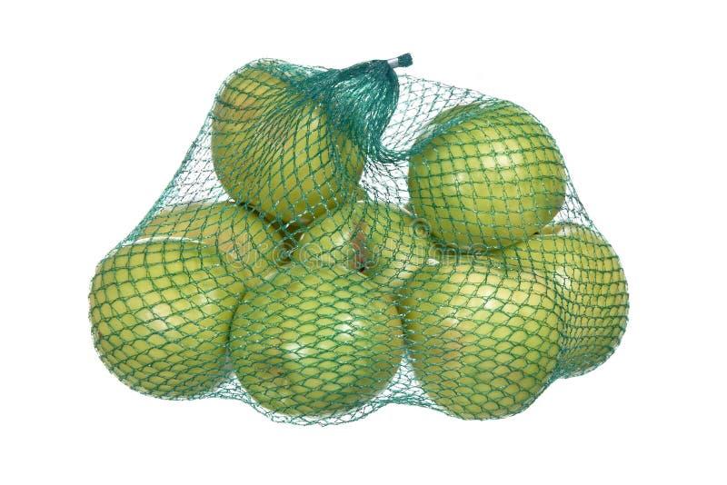 Green apples stock photos