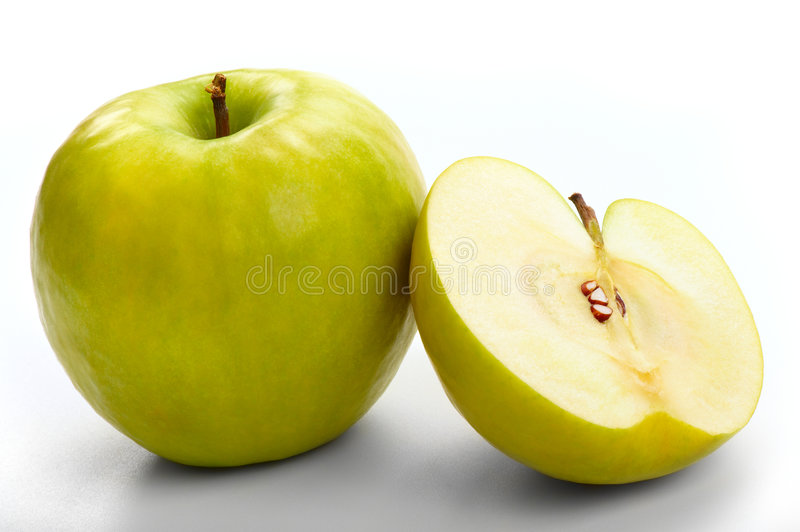Download Green apples-4 stock photo. Image of ripe, macro, fruit - 8302222