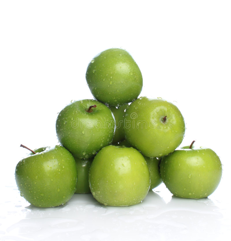Free Green Apples Stock Image - 5963561