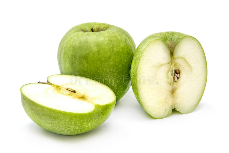 Green Apples Background Stock Photography