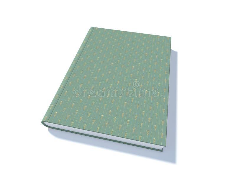 Download Green Art book stock illustration. Image of magazine - 25836174