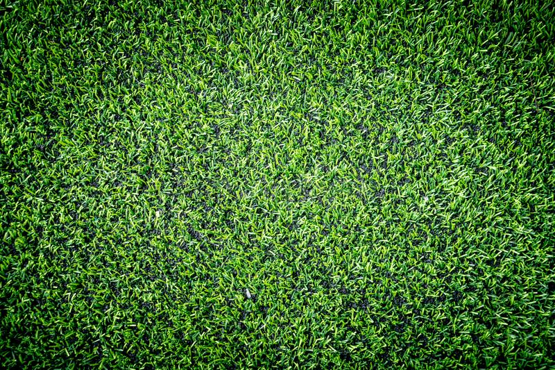 Green Artifact grass top view for indoor sport stock images