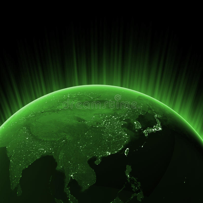 Download Green Asia Stock Photography - Image: 18340092