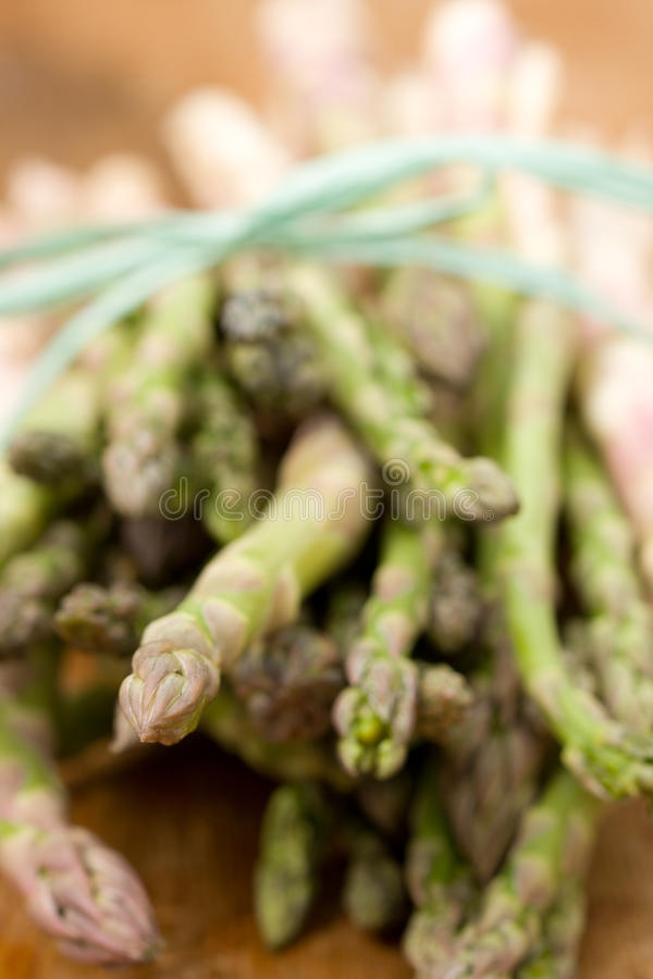 Download Green asparagus stock image. Image of wood, group, eating - 19181085