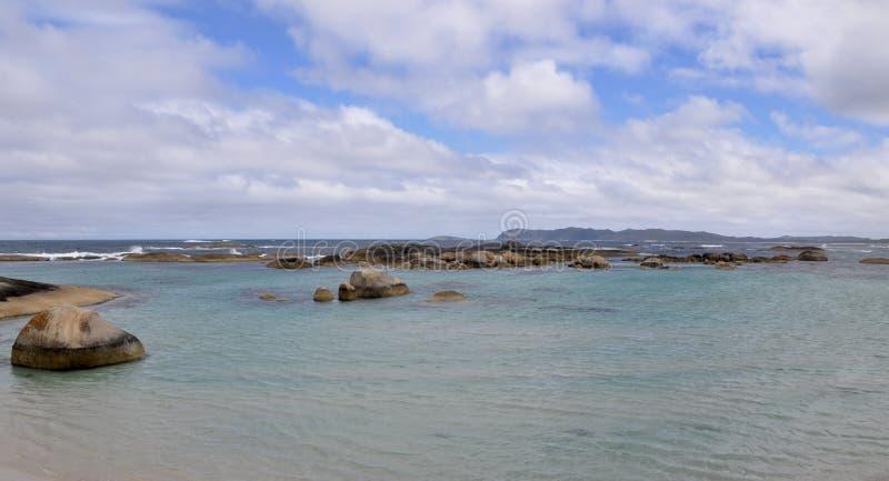 Green& x27; associação de s: Grande costa do oceano do sul imagens de stock