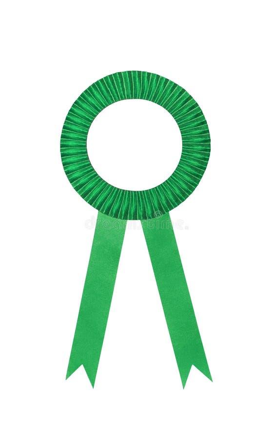 Download Green Award Ribbons Badge Stock Image - Image: 33567391