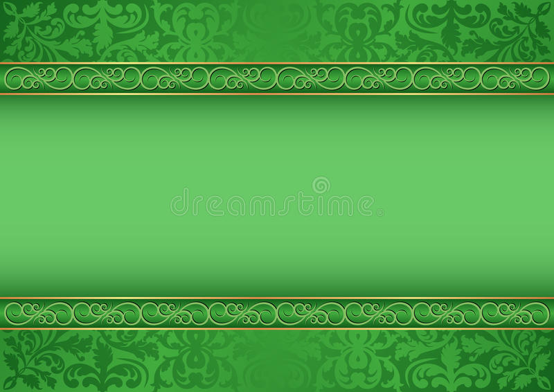 Download Green background stock vector. Illustration of classical - 28797680
