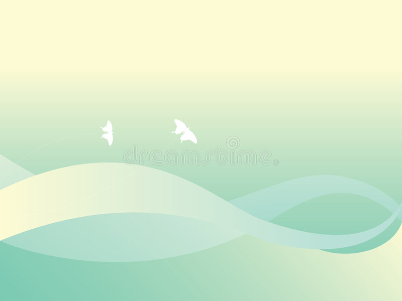 Download Green background stock vector. Illustration of lines, vector - 5700671