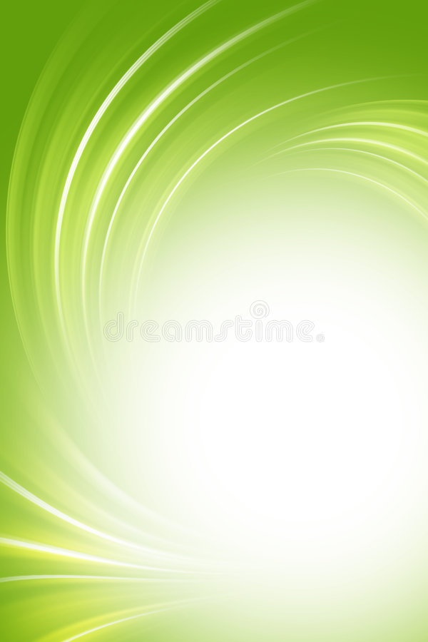 Green background. Green and white background, twirl