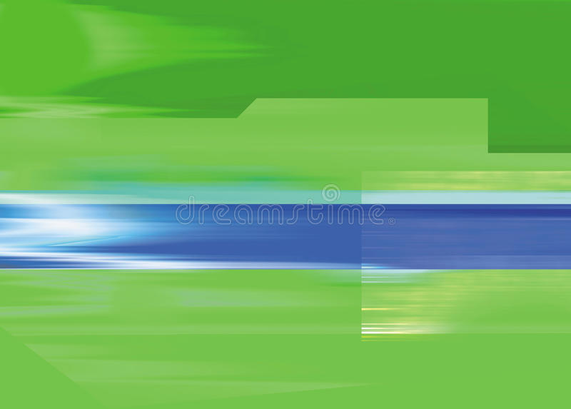 Green background with blue slash royalty free stock photography