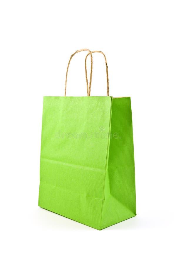 Green Bag Stock Image