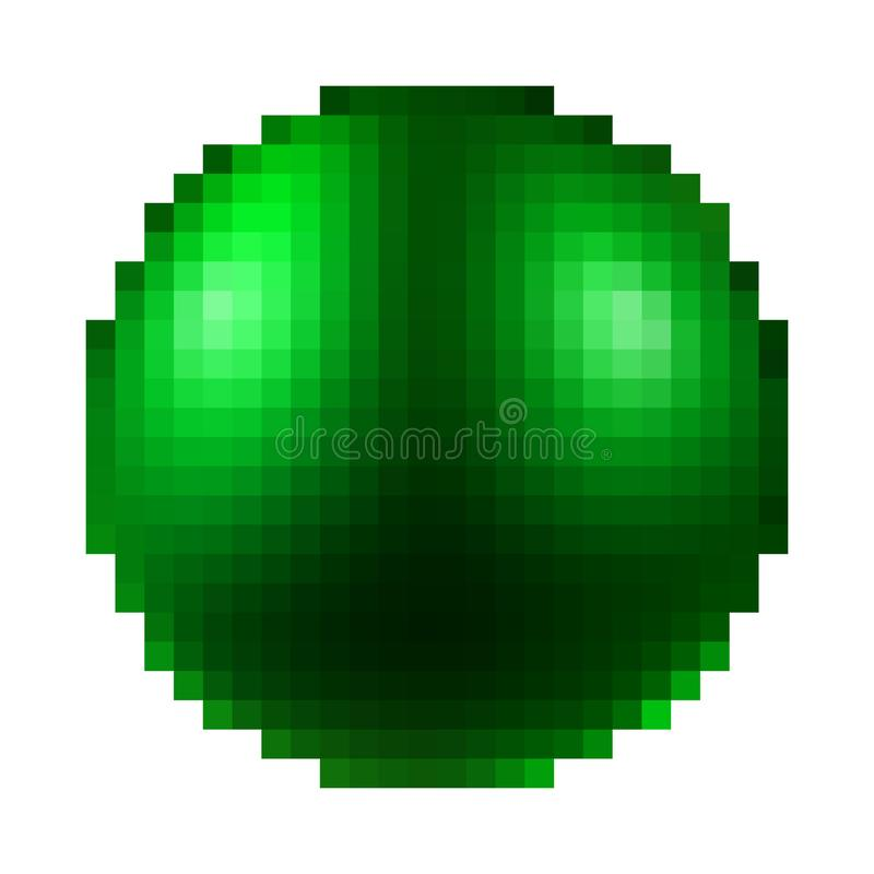 Ball Pixel Stock Illustrations 2625 Ball Pixel Stock