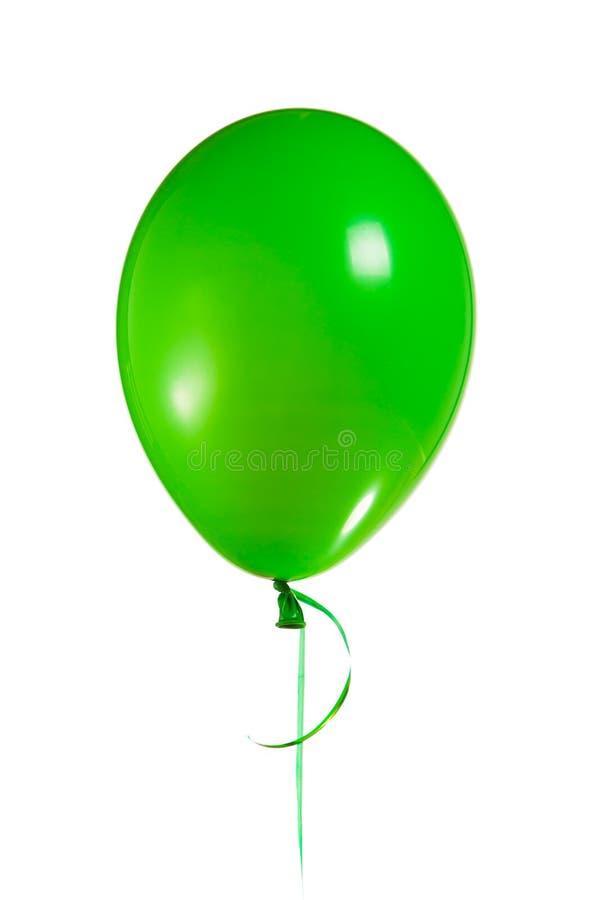 Green balloon royalty free stock photo