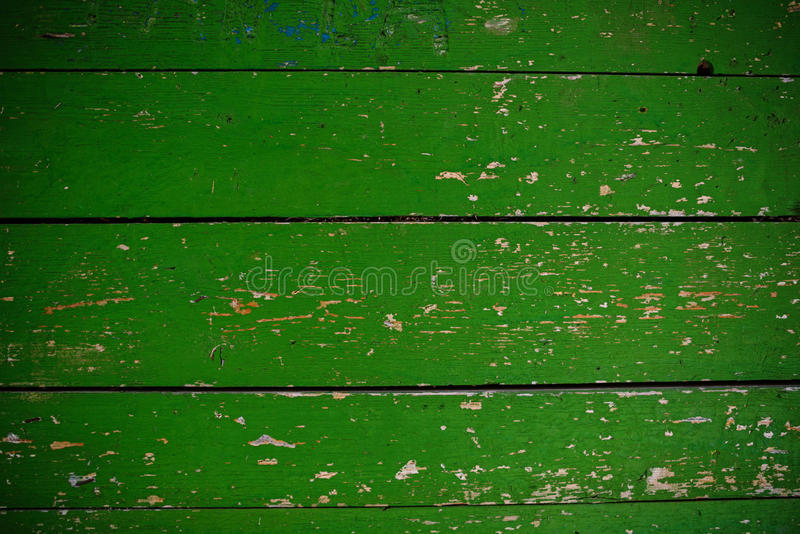 Green Barn Wooden Wall Planking Square Texture. Old Solid Wood Slats Rustic Shabby Frame Background. Paint Peeled Grungy Weathered. Green Barn Wooden Wall royalty free stock photo