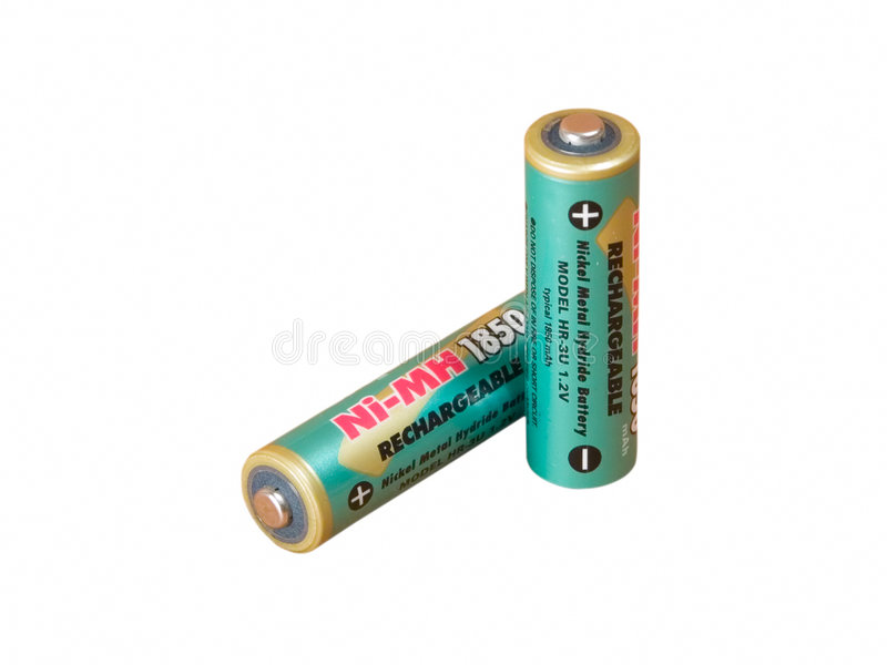 Download A green battery stock photo. Image of blue, color, compact - 200416