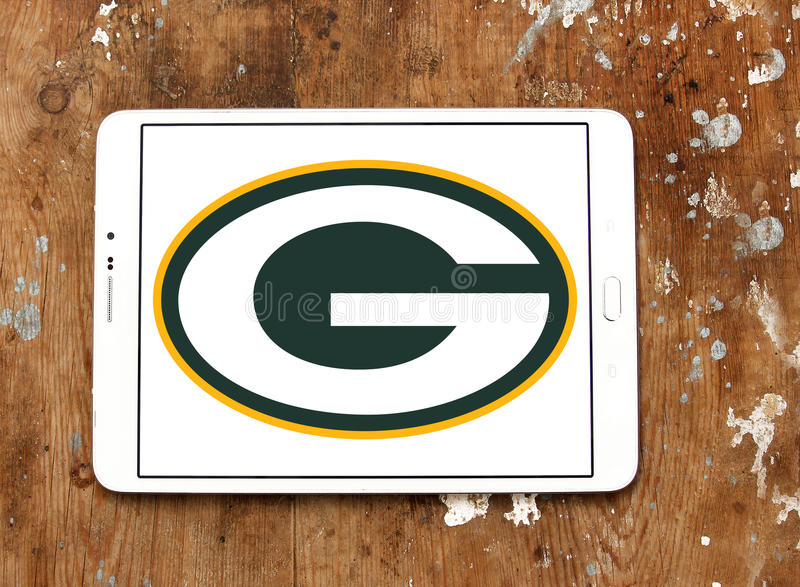 Green Bay Packers american football team logo royalty free stock photography