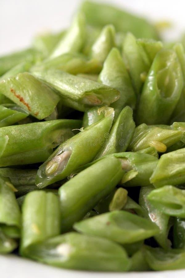 Green Bean Royalty Free Stock Photography