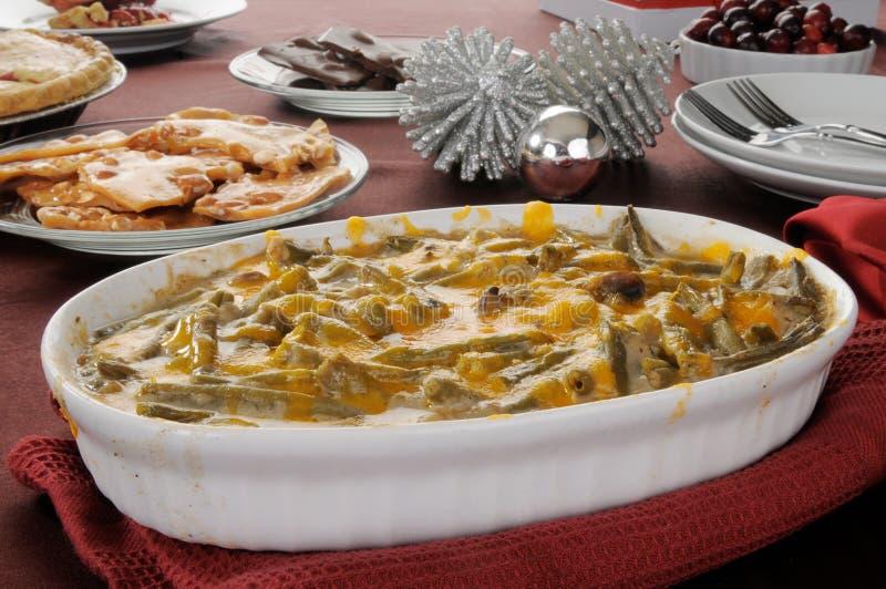 Green bean casserole stock photos