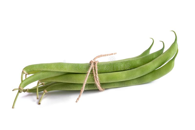 Green beans group stock images