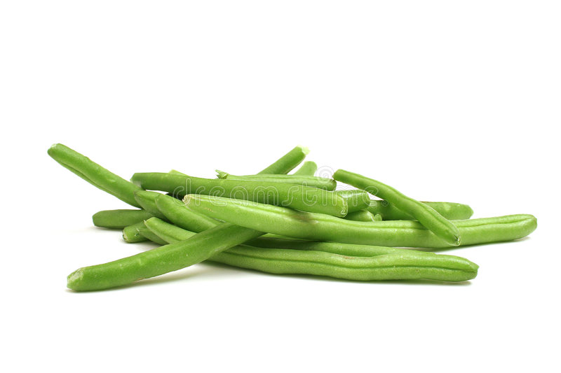 Download Green Beans On White Royalty Free Stock Photography - Image: 1929967
