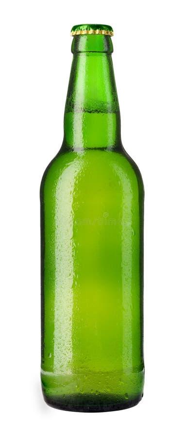 Free Green Beer Bottle Stock Image - 5039711