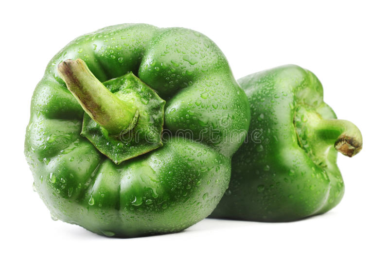 Download Green bell pepper. stock image. Image of ripe, pepper - 19462793
