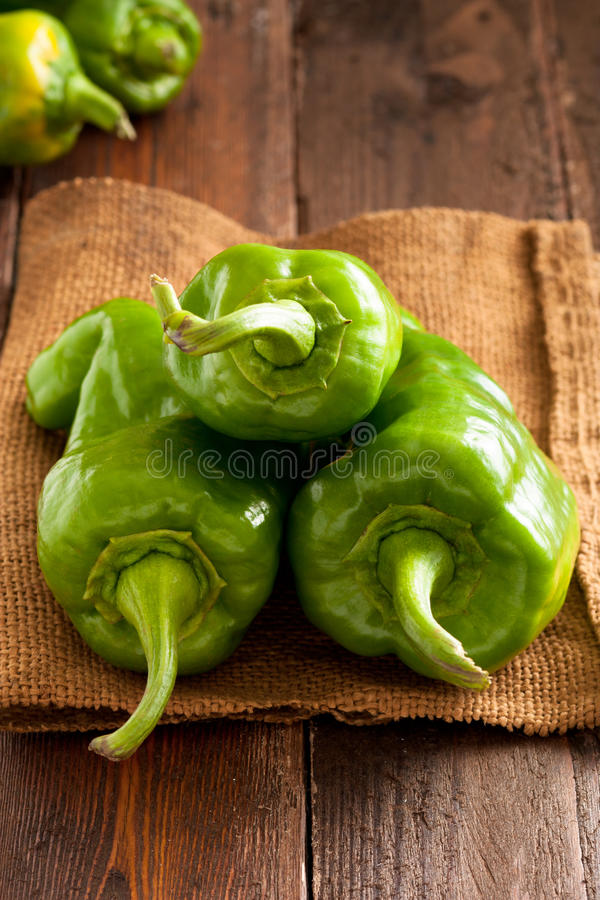 Download Green Bell Peppers stock image. Image of focus, selective - 21533615