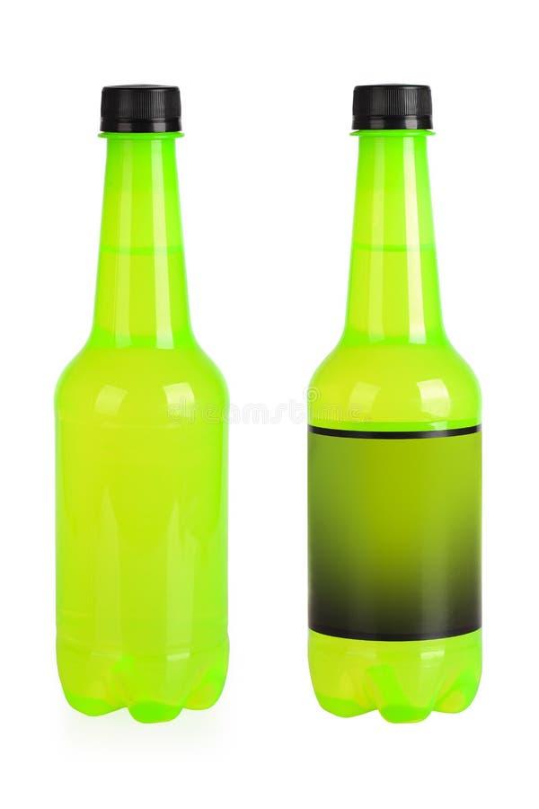 Green beverage bottles