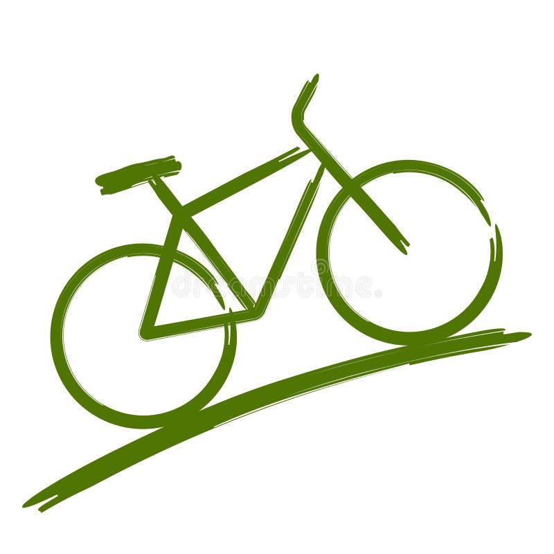 Free Green Bike Stock Photo - 25916530